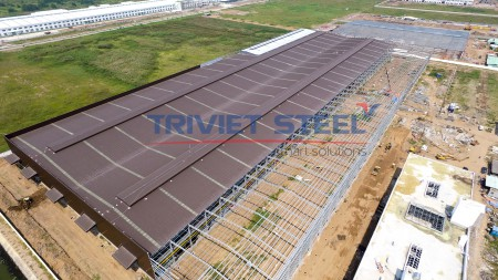 TRI VIET STEEL - Erection Steel Frame Of Factory